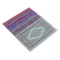 1:12 Dollhouse miniature turkish style floor Rug for dolls house decor cv