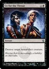 GO FOR THE THROAT Mirrodin Besieged MTG Black Instant Unc