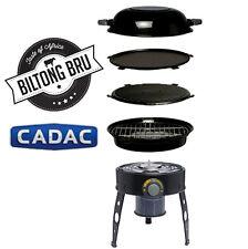 CADAC SAFARI CHEF BBQ | BRAAI | PORTABLE GAS GRILL BBQ | CAMPING STOVE
