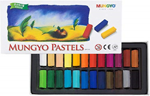 Non Toxic Soft Pastel Set of 24 Assorted Colors Square Chalk