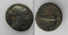 RARE 48bc SILVER denarius MEDAGLIA-BRUTUS Albinus