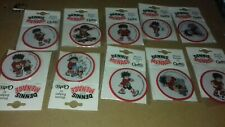 More details for dennis the menace woven badges by cash's 1999 lot of 10 patches
