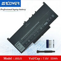 SKOWER 55WH J60J5 Laptop Battery For Dell Latitude E7270 E7470 MC34Y 242WD GG4FM