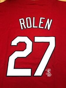 Scott Rolen Philadelphia Phillies VINTAGE Majestic MLB Shirt