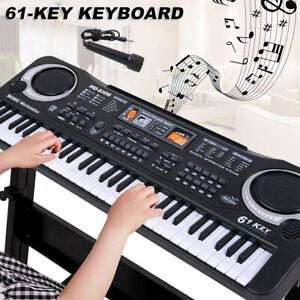 à clavier musical électronique 61 touches avec microphone numériquepr début DE