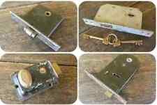 Job Lot - 4 Vintage Door Locks - Deadlock - Mortice - Chubb - Yale - Parker