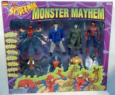 Spiderman Monster Mayhem 8 Pack Toy Biz Collector's Edition Marvel Comics MISB
