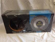 "New listing Q-Logic Qlh-10D65 Q-Enclosure Dual Vent Separate Chamber 10"" Subwoofer Enclosure"
