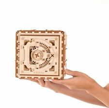 Ugears Safe Box Mechanical Wooden Model KIT - 3D puzzle, Self Assembling