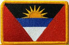 ANTIGUA & BARBUDA Flag Patch with VELCRO® brand fastener Military Emblem