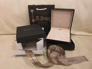BVLGARI NECKLACE BOX