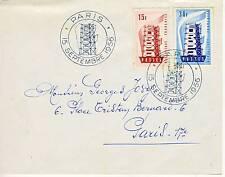 PREMIER JOUR EUROPA PARIS 15 SEPTEMBRE 1956 / COTE 50 €