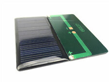 100Pcs/Lot 5V 60mA 68X37mm Micro Mini Small Power Solar Cells Panel For DIY Toy