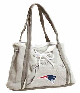 Ladies Embroidered Hoodie Purse Handbag - New England Patriots - NFL