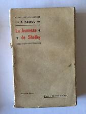 LA JEUNESSE DE SHELLEY 1908 KOSZUL