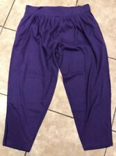 Tangles Womens Size 24W Purple Pants