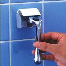 Shaver Toothbrush Holder Washroom High Power Removable Sticker Razor Holder