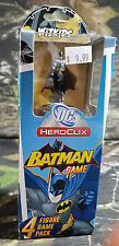 HEROCLIX BATMAN GAME 4 FIGURE GAME PACK DC HEROCLIX B30