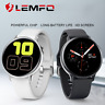 Lemfo S20 ECG Smart Watch Touch Screen IP68 Waterproof Android IOS SmartWatch