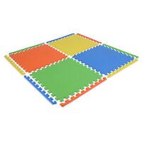 Soft Eva Foam Floor Play mats Interlocking Tiles Children Kids Nursery Puzzle
