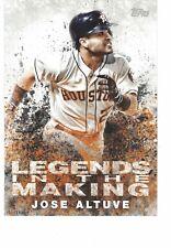 "2018 Topps Legends In The Making 5""x7"" #/49 Jose Altuve Houston Astros SET BREAK"