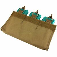 Condor Triple 5.56/.223 Mag Pouch w/ Hook Backing for Loop Surface Coyote Brown