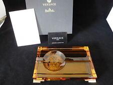 Rosenthal Versace Medusa Prisma Amber Zigarrenascher 20 cm Neu Ovp 1.Wahl