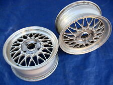 Mazda RX7 RX-7 FC OEM BBS RZ 15x6.5 et40 Light Weight Factory Alloy Wheels (2)