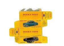 Boîte copie repro Dinky Toys 521 peugeot 403 berline ( reproduction box )