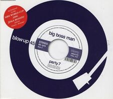 BIG BOSS MAN Party 7  2 TRACK CD NEW - NOT SEALED
