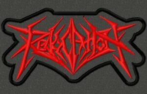 Revocation embroidered patch.