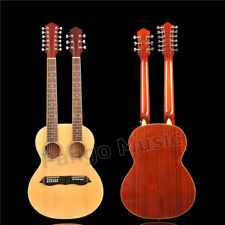 Double Neck 12+6 strings Acoustic guitar of Pango Music factory (PDN-1215)