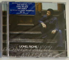 LIONEL RICHIE - JUST FOR YOU - CD NUOVO