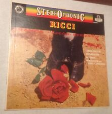 Ruggiero Ricci/Gamba SARASATE/SAINT-SAENS - London CS 6165