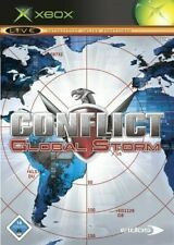 Microsoft XBOX GAME-CONFLICT: global Storm with OVP