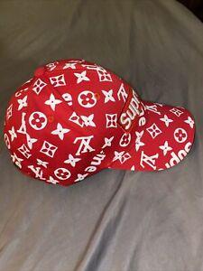 Designer Supreme Hat Red