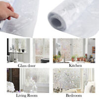 PVC Frosted Sticker Glass Privacy Shower Screen Window Cover Self Adhesive Film