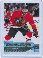 16/17 UPPER DECK YOUNG GUNS ROOKIE RC #480 MICHAL KEMPNY BLACKHAWKS *50656