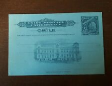 CHILE ca.1900 postal card, 3 centavos, postal stationery MINT UNUSED A22