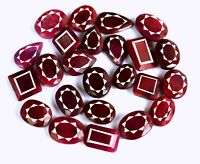 Red Ruby Gemstone Lot Top Quality Natural Mix Shape Pigeon Blood Red