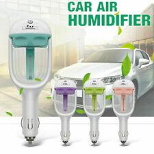 Mini Car Air Humidifier Essential Oil Diffuser Ultrasonic Aroma Mist Purifier US