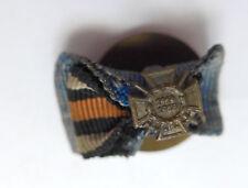 1er Knopflochspange --Ehrenkreuz für Kriegsteilnehmer-- Knopfloch
