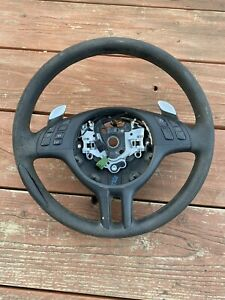 BMW Steering Wheel With Paddle Shifter for Sequential Gearbox SMG 325 330 M3