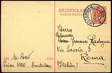 Netherlands 1935, 7.5c Red, Stationery Postal Card Used #C36206