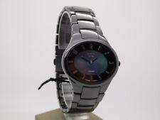 Boccia Titanium Damenuhr Uhr Keramik Schwarz Saphirglas 3216-02