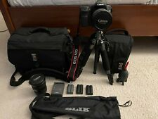 Canon Eos 50d with Canon Ef 17-40mm f/4L Usm and Other Extras