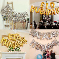 Eid Mubarak Foil Balloons Inflatable Toys Anniversary Gifts Party Event Decor UK