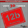 HN5 - Hausnummer Türschild Aufkleber  - Schild/Briefkasten/Nummern/Straße