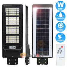 Outdoor Commercial 990000Lm 150W Solar Road Street Light Dusk-to-Dawn Ip67 Lamp