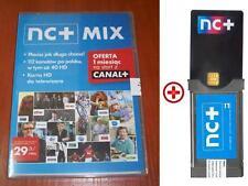 NC+ MIX TNK Telewizja na karte modul CAM + karta + 1Miesiac full pakiet